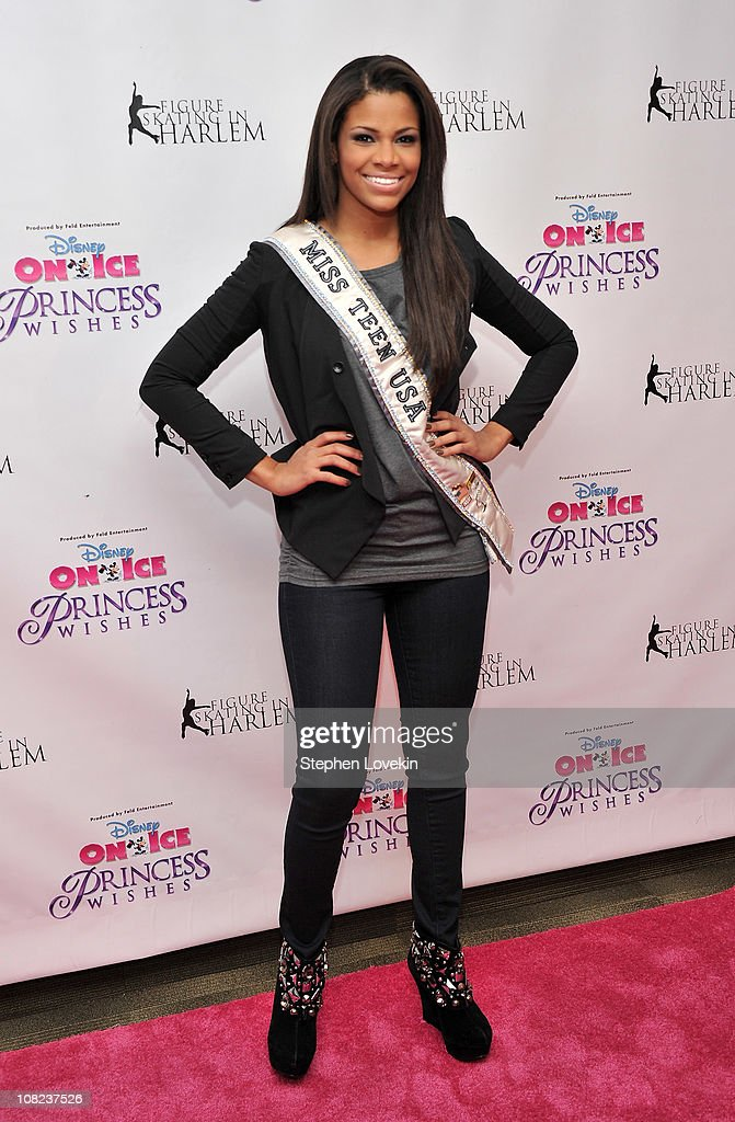 Miss Teen USA Kamie Crawford attends Disney On Ice's 'Princess Wishes' opening night at Madison Square Garden on January 21, 2011 in New York City.