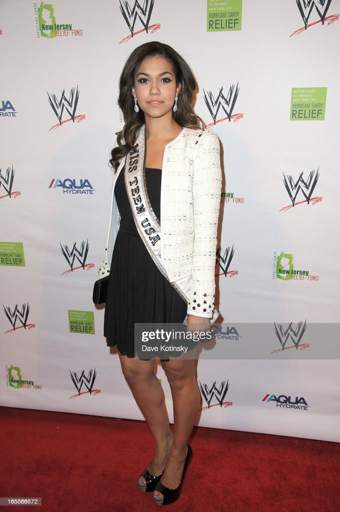Miss Teen USA Logan West attends the Superstars For Sandy Relief at Cipriani Wall Street on April 4, 2013 in New York City.