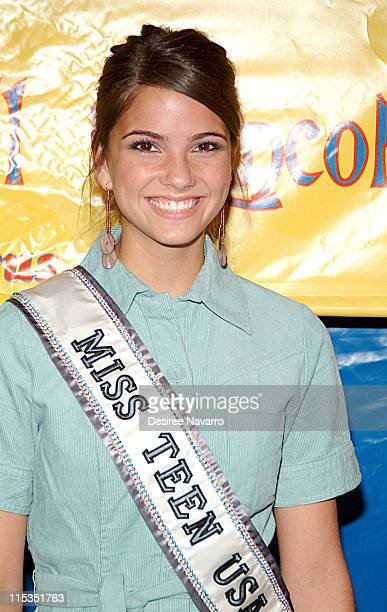 Miss Teen USA Shelley Catherine Hennig during Big Apple Circus Opening Night Gala Benefit at Damrosch Park at Lincoln Center in New York City New...