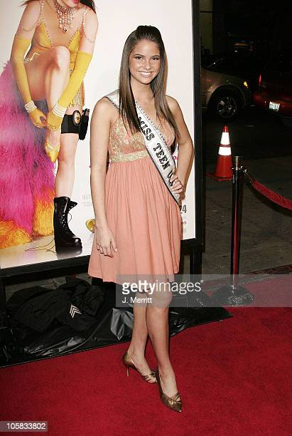 Miss Teen USA Shelley Hennig during 'Miss Congeniality 2 Armed and Fabulous' Los Angeles Premiere at Grauman's Chinese Theatre in Hollywood...
