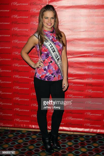 Miss Teen USA Stormi Henley attends the Cuddle Project awareness event at Carnival at Bowlmor Lanes on April 26 2010 in New York City