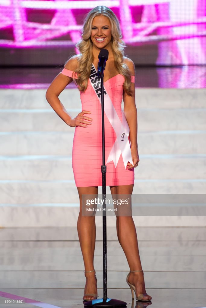 Miss Tennessee USA Brenna Mader competes in the 2013 Miss USA pageant preliminary competition at PH Live at Planet Hollywood Resort & Casino on June 12, 2013 in Las Vegas, Nevada.
