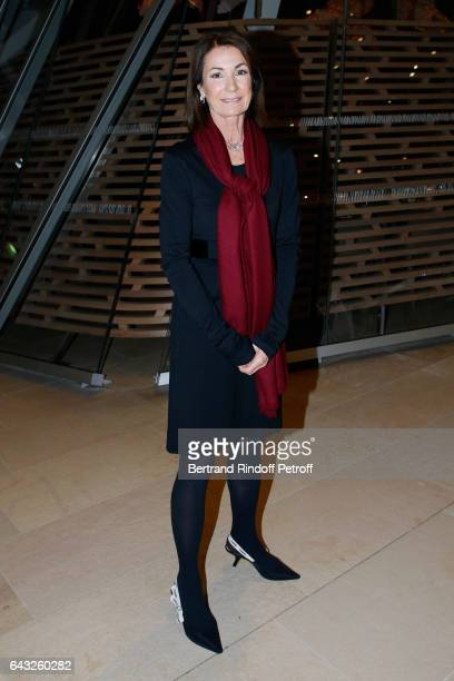 Miss Thierry Breton attend the Private View of 'Icones de l'Art Moderne la Collection Chtchoukine' at Fondation Louis Vuitton on February 20 2017 in...