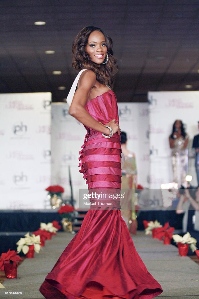 Miss Trinidad and Tobago Avionne Mark walks the runway as part of the 2012 Miss Universe Pageant's Official Welcome Event at Planet Hollywood Resort and Casino on December 6, 2012 in Las Vegas, Nevada.