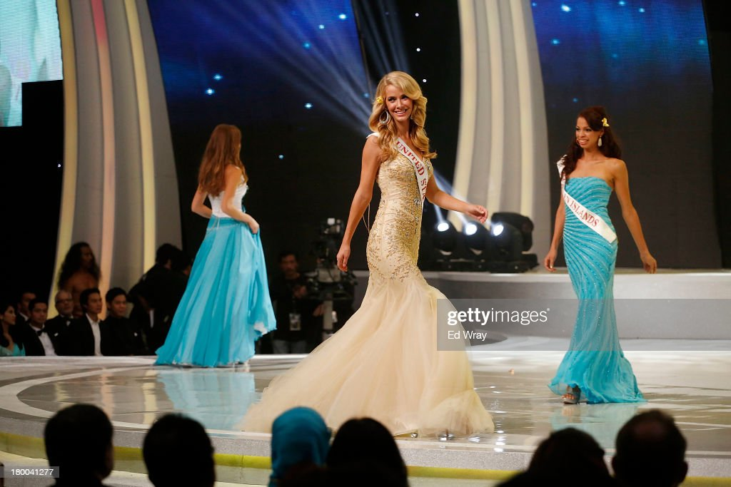 Miss United States performs during the Miss World 2013 Indonesia on September 8, 2013 in Nusa Dua, Indonesia. Indonesia's government has moved the final round of the Miss World pageant from main Java island to the resort island of Bali due to the ongoing Muslim protests.