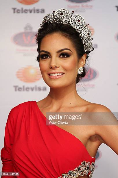 Miss Universe 2010 Jimena Navarrete attends the Miss Universe 2010 Gala Night at Crowne Plaza Hotel on September 14 2010 in Mexico City Mexico