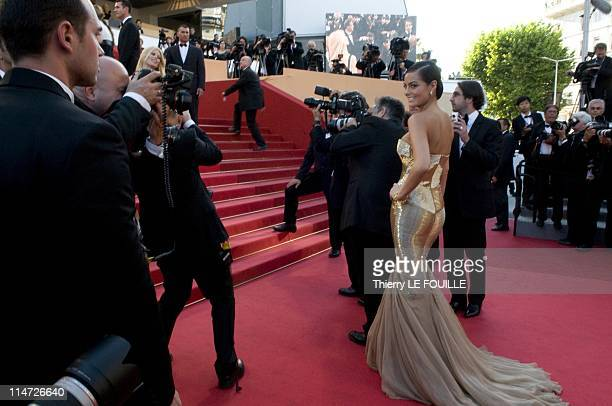 Miss Universe 2011 Ximena Navarrete attends the 'This Must Be The Place' Premiere during the 64th Annual Cannes Film Festival at Palais des Festivals...