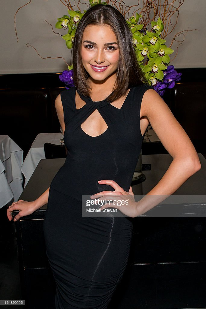 Miss Universe 2012 <a gi-track='captionPersonalityLinkClicked' href=/galleries/search?phrase=Olivia+Culpo&family=editorial&specificpeople=9194131 ng-click='$event.stopPropagation()'>Olivia Culpo</a> attends an auction dinner for Hurricane Sandy Relief at Philippe Chow on March 28, 2013 in New York City.
