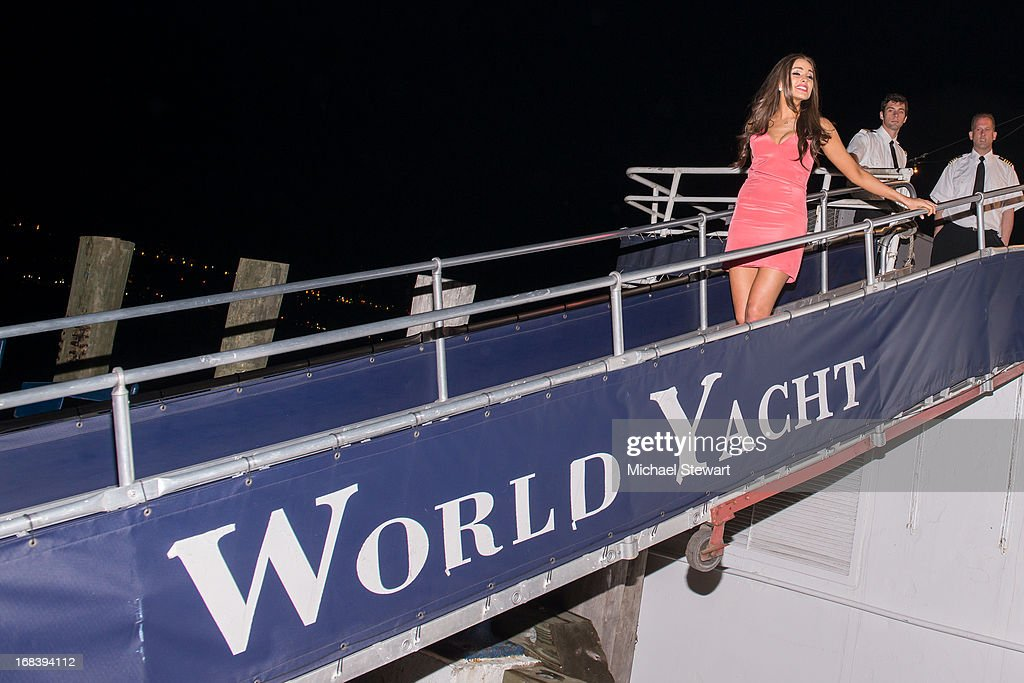 Miss Universe 2012 Olivia Culpo attends her 21st Birthday Celebration at World Yacht - The Duchess on May 8, 2013 in New York City.