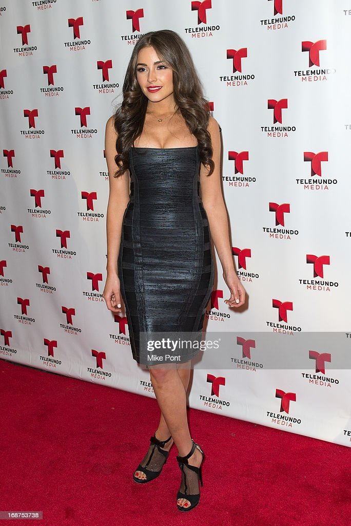 Miss Universe 2012 Olivia Culpo attends the 2013 Telemundo Upfront at Frederick P. Rose Hall, Jazz at Lincoln Center on May 14, 2013 in New York City.