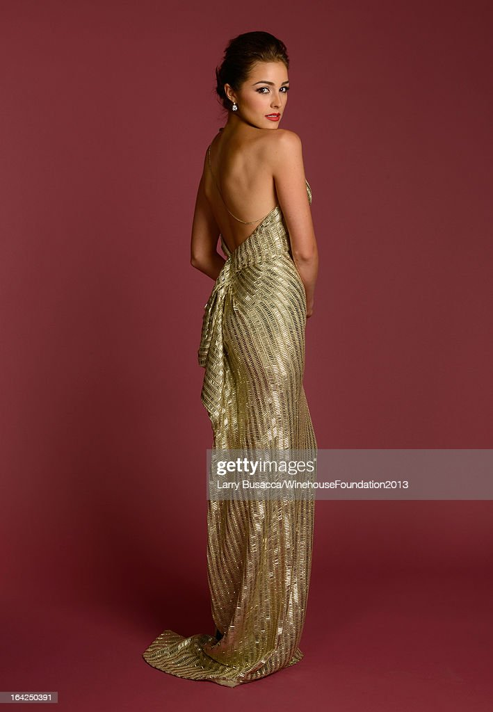 Miss Universe 2012 <a gi-track='captionPersonalityLinkClicked' href=/galleries/search?phrase=Olivia+Culpo&family=editorial&specificpeople=9194131 ng-click='$event.stopPropagation()'>Olivia Culpo</a> poses for a portrait during the 2013 Amy Winehouse Foundation Inspiration Awards and Gala at The Waldorf=Astoria on March 21, 2013 in New York City.