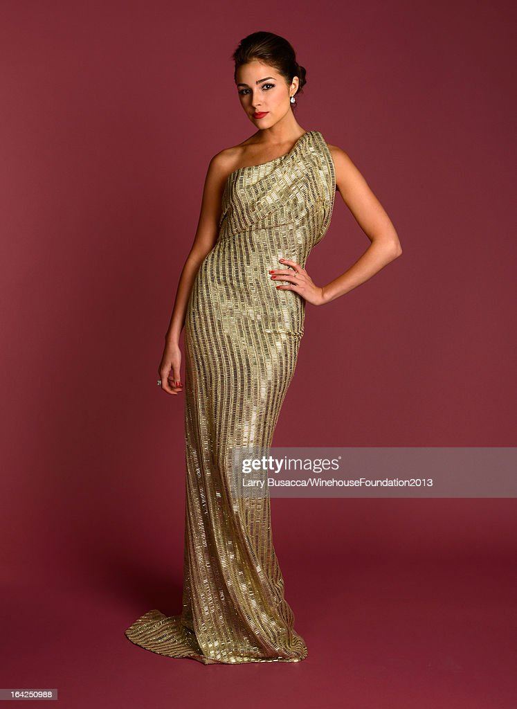 Miss Universe 2012 Olivia Culpo poses for a portrait during the 2013 Amy Winehouse Foundation Inspiration Awards and Gala at The Waldorf=Astoria on March 21, 2013 in New York City.