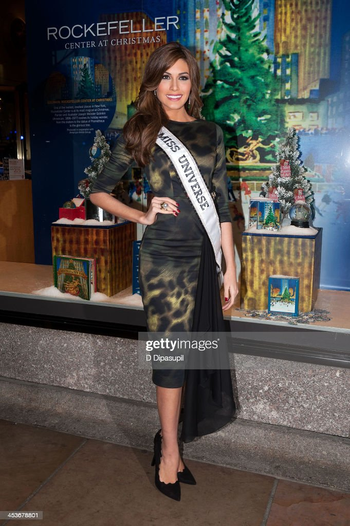 Miss Universe 2013 Gabriela Isler attends the 81st annual Rockefeller Center Christmas Tree Lighting Ceremony on December 4, 2013 in New York City.