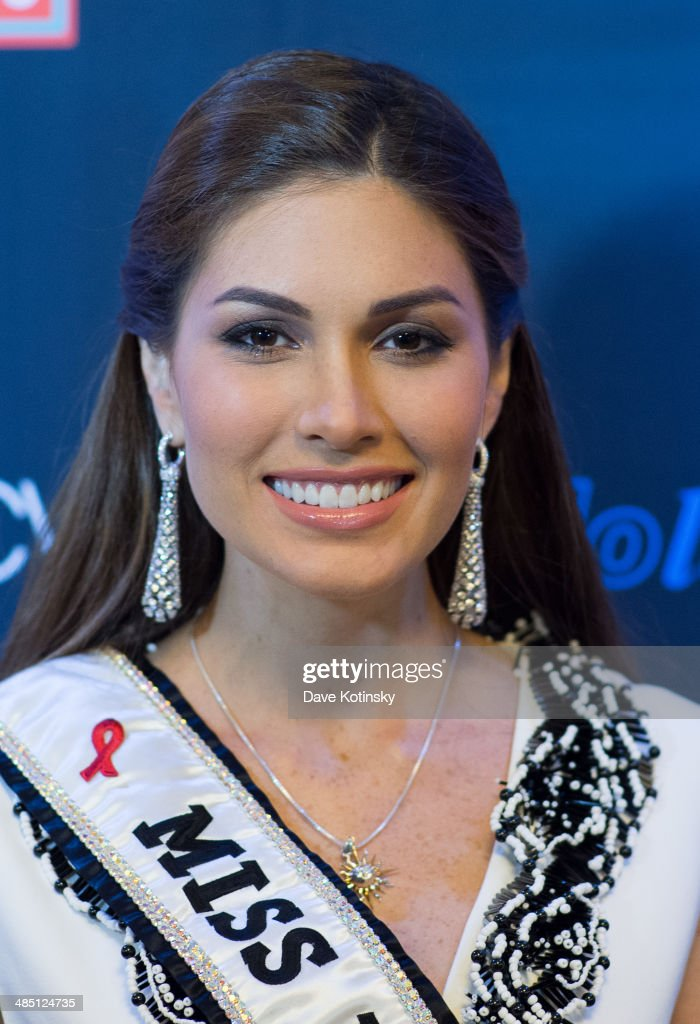 Miss Universe 2013 Gabriela Isler visits Macy's Herald Square on April 16 2014 in New York City