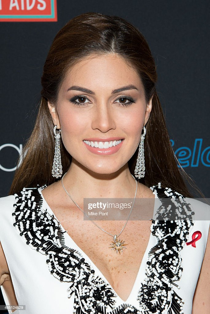 Miss Universe 2013 Gabriela Isler visits Macy's Herald Square on April 16, 2014 in New York City.