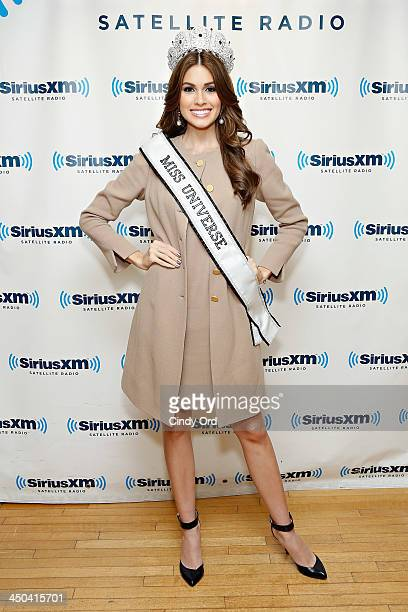 Miss Universe 2013 Gabriela Isler visits the SiriusXM Studios on November 18 2013 in New York City
