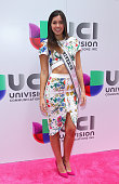 Miss Universe 2014 Paulina Vega attends Univision's 2015 Upfront at Gotham Hall on May 12 2015 in New York City