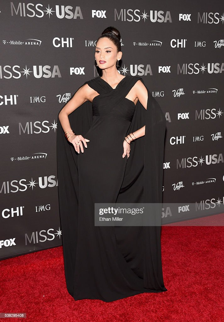 Pia Alonzo Wurtzbach- MISS UNIVERSE 2015- Official Thread - Page 4 Miss-universe-2015-pia-wurtzbach-attends-the-2016-miss-usa-pageant-at-picture-id538295408