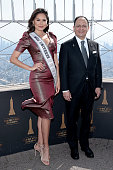 Miss Universe Andrea Meza And Consul General Of Mexico...