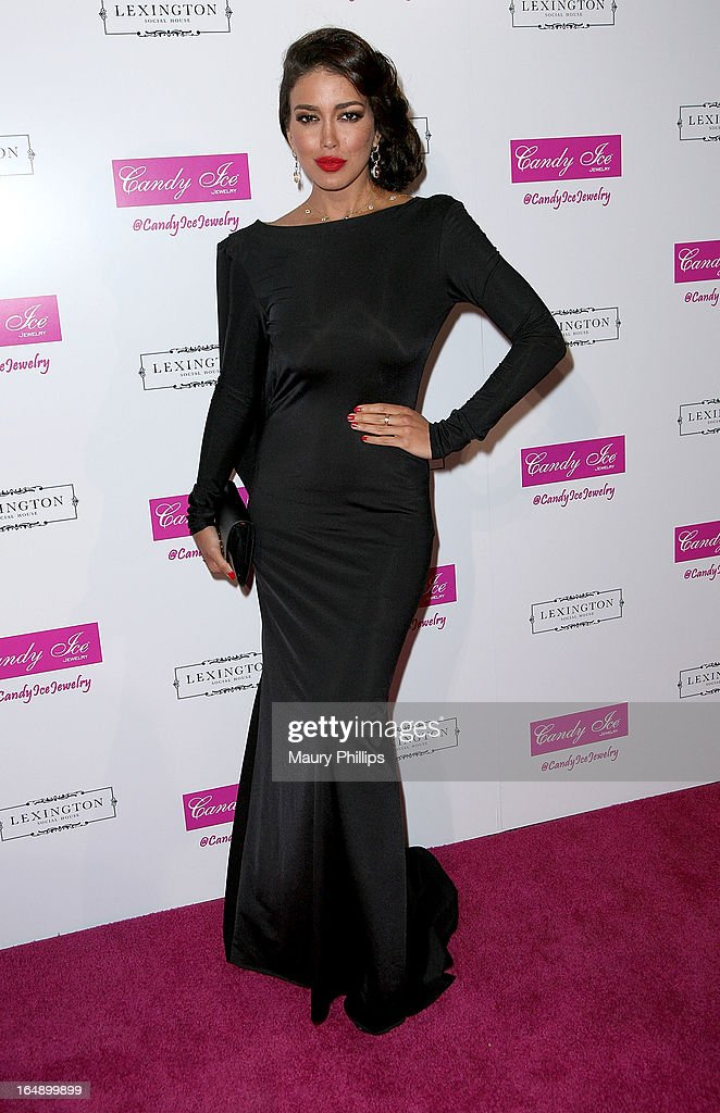Miss Universe Canada Sahar Biniaz attends Fire & Ice Gala Benefiting Fresh2o at Lexington Social House on March 28, 2013 in Hollywood, California.