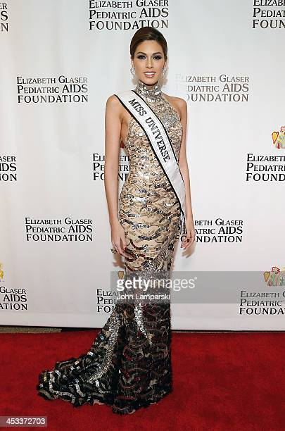 Miss Universe Gabriela Isler attends Elizabeth Glaser Pediatric AIDS Foundation's 25th Anniversary Gala at Best Buy Theater on December 3 2013 in New...