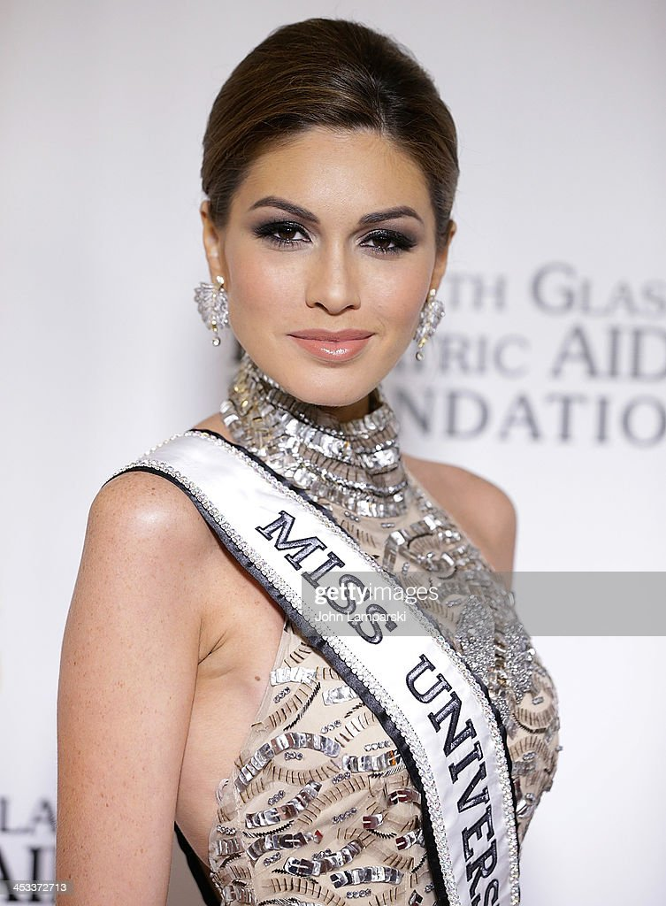 Miss Universe Gabriela Isler attends Elizabeth Glaser Pediatric AIDS Foundation's 25th Anniversary Gala at Best Buy Theater on December 3, 2013 in New York City.