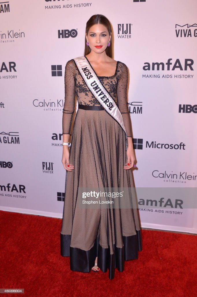 Miss Universe Gabriela Isler attends the amfAR Inspiration Gala New York 2014 at The Plaza Hotel on June 10 2014 in New York City