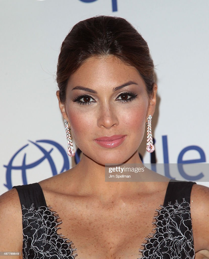 Miss Universe Gabriela Isler attends the Operation Smile's Smile Event at Cipriani Wall Street on May 1, 2014 in New York City.