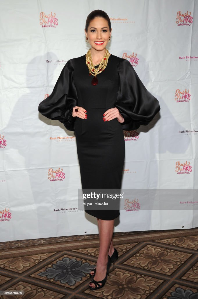 Miss Universe Gabriela Isler attends the Rush HeARTS Education Luncheon at The Plaza Hotel on February 14 2014 in New York City