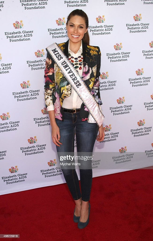 Miss Universe Gabriela Isler Elizabeth Glaser Pediatric AIDS Foundation's 'Kids 4 Kid' Family Festival at Chelsea Piers Field House on September 27...