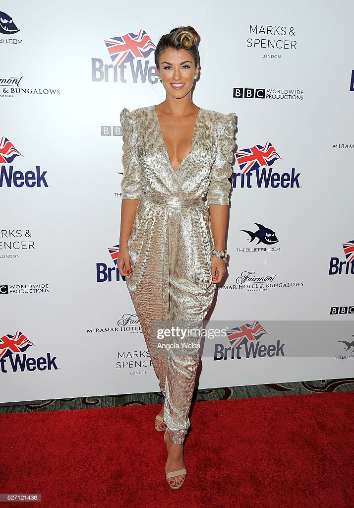 Miss Universe Great Britain <a gi-track='captionPersonalityLinkClicked' href=/galleries/search?phrase=Amy+Willerton&family=editorial&specificpeople=8785597 ng-click='$event.stopPropagation()'>Amy Willerton</a> attends BritWeek's 10th Anniversary VIP Reception & Gala at Fairmont Hotel on May 1, 2016 in Los Angeles, California.