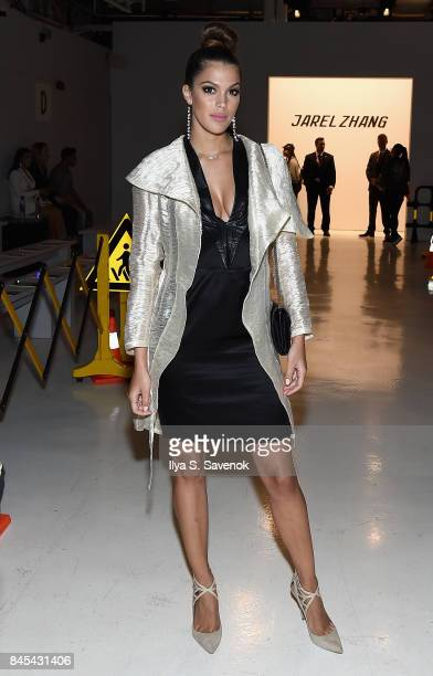 Miss Universe Iris Mittenaere attends Jarel Zhang fashion show during New York Fashion Week The Shows at Gallery 3 Skylight Clarkson Sq on September...