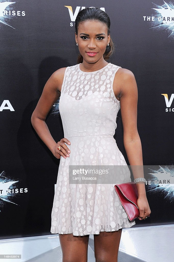 Miss Universe Leila Lopes attends 'The Dark Knight Rises' premiere at AMC Lincoln Square Theater on July 16 2012 in New York City