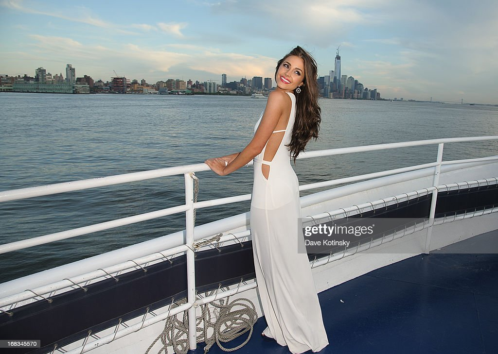 Miss Universe Olivia Culpo attends Miss Universe, Olivia Culpo 21st Birthday Celebration Aboard The World Yacht at World Yacht - The Duchess on May 8, 2013 in New York City.