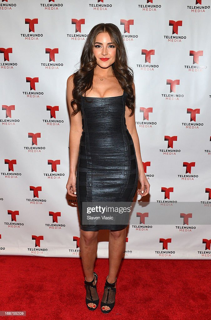 Miss Universe Olivia Culpo attends the 2013 Telemundo Upfront at Frederick P. Rose Hall, Jazz at Lincoln Center on May 14, 2013 in New York City.