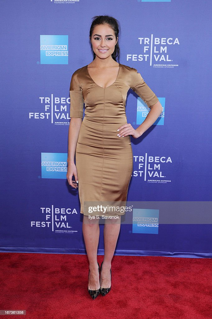 Miss Universe Olivia Culpo attends Tribeca Talks: After The Movie: Battle Of amfAR during the 2013 Tribeca Film Festival on April 24, 2013 in New York City.