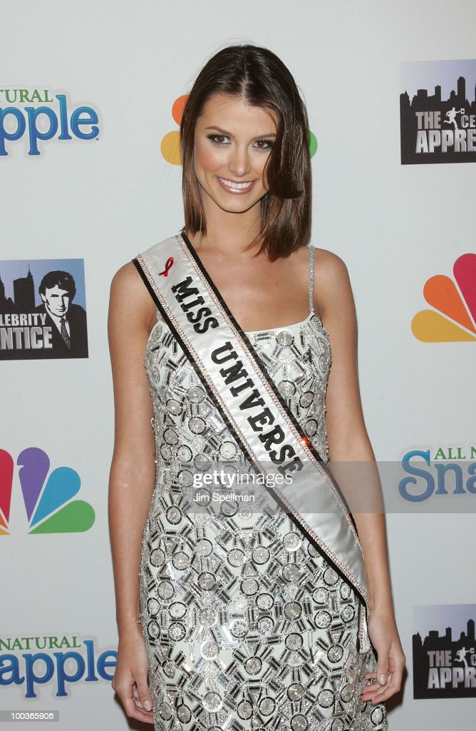 Miss Universe Stefania Fernandez attends 'The Celebrity Apprentice' Season 3 finale after party at the Trump SoHo on May 23, 2010 in New York City.