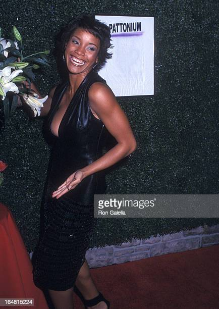 Miss USA 2002 Shauntay Hinton attends Patti LaBelle's Holiday Party to Celebrate the Launch of Her New Company Pattonium Management on December 19...