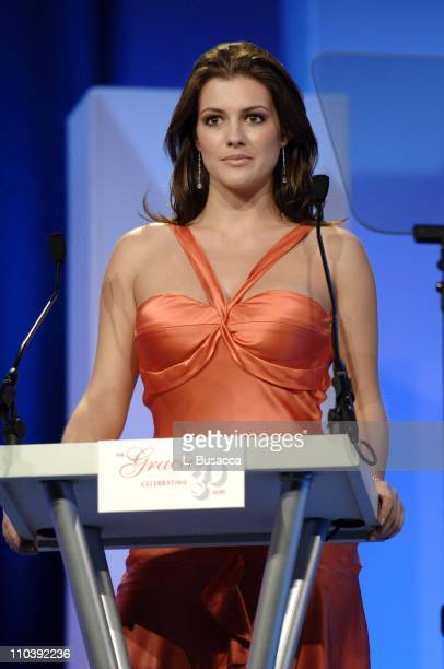 Miss USA 2005 Chelsea Cooley during American Women in Radio Television 30th Annual Gracie Allen Awards Show at New York Marriot Marquis Hotel in New...