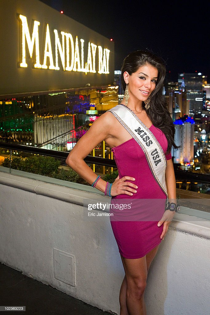 Miss USA 2010, Rima Fakih, appears at the House of Blues Foundation Room inside the Mandalay Bay Resort & Casino June 23, 2010 in Las Vegas, Nevada. Fakih will represent the United States in the 2010 Miss Universe Pageant which will be held at the Mandalay Bay Events Center on August 23, 2010.