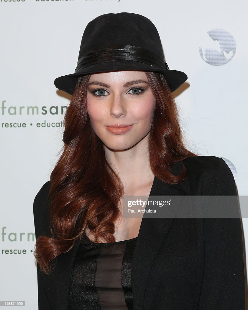 Miss USA 2011 Alyssa Campanella attends the 'Fun For Animals' celebrity poker tournament at Petersen Automotive Museum on March 16, 2013 in Los Angeles, California.