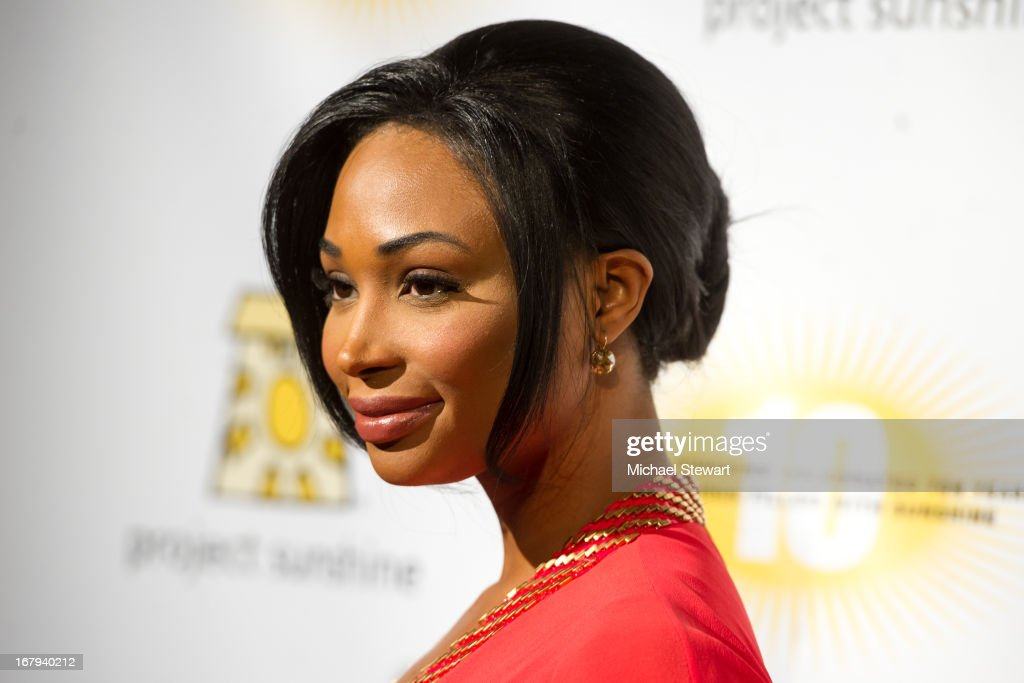 Miss USA 2012 Nana Meriwether attends the 10th Annual Project Sunshine Benefit at Cipriani 42nd Street on May 2, 2013 in New York City.
