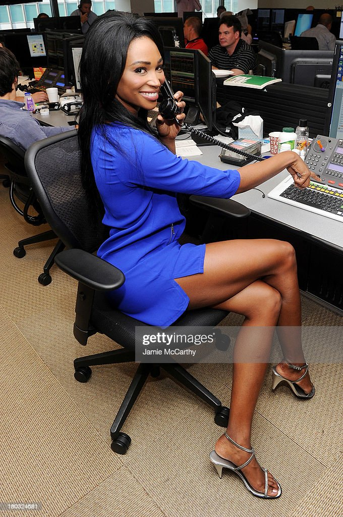 Miss USA 2012 Nana Meriwether attends the annual charity day hosted by Cantor Fitzgerald and BGC at the BGC office on September 11, 2013 in New York City.