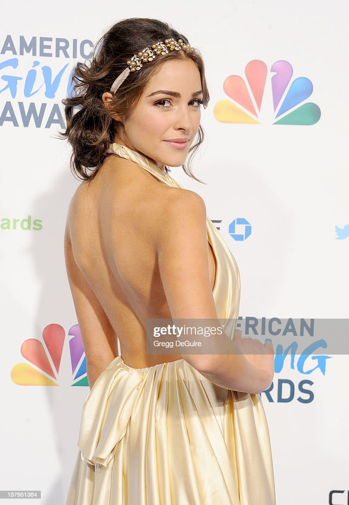 Miss USA 2012 Olivia Culpo arrives at the 2nd Annual American Giving Awards at the Pasadena Civic Auditorium on December 7, 2012 in Pasadena, California.