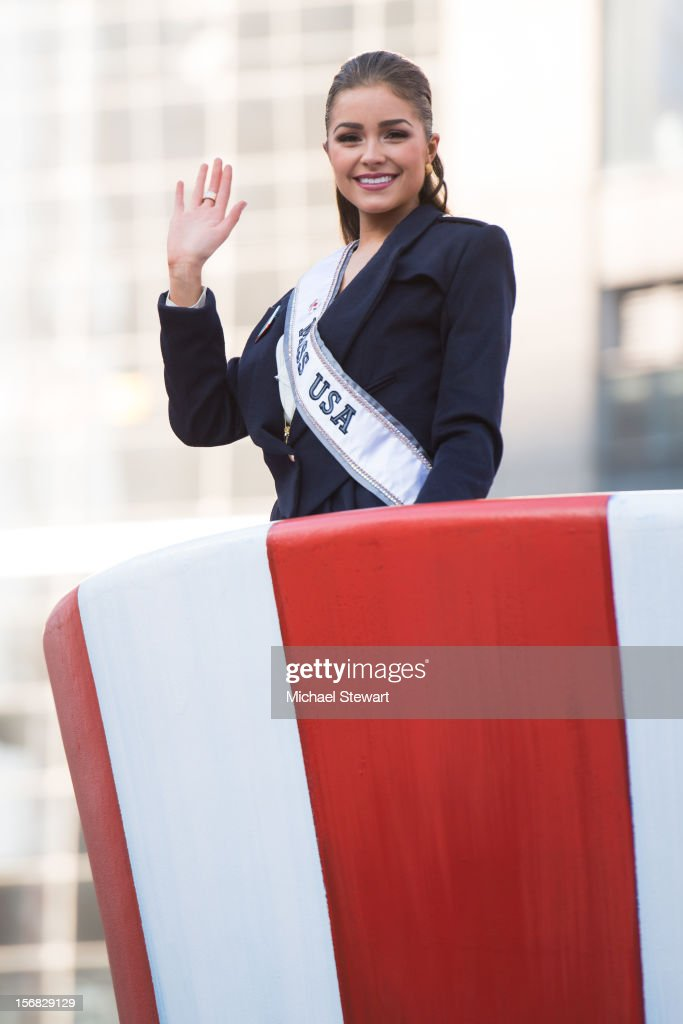 Miss USA 2012 Olivia Culpo attends the 86th Annual Macy's Thanksgiving Day Parade on November 22, 2012 in New York City.