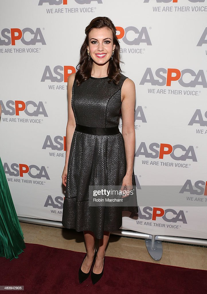 Miss USA 2013 Erin Brady attends ASPCA's Annual Bergh Ball Gala at The Plaza Hotel on April 10 2014 in New York City