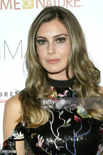 Miss USA 2013 Erin Brady attends Finding Ashley Stewart 2017 at Kings Theatre on September 16 2017 in