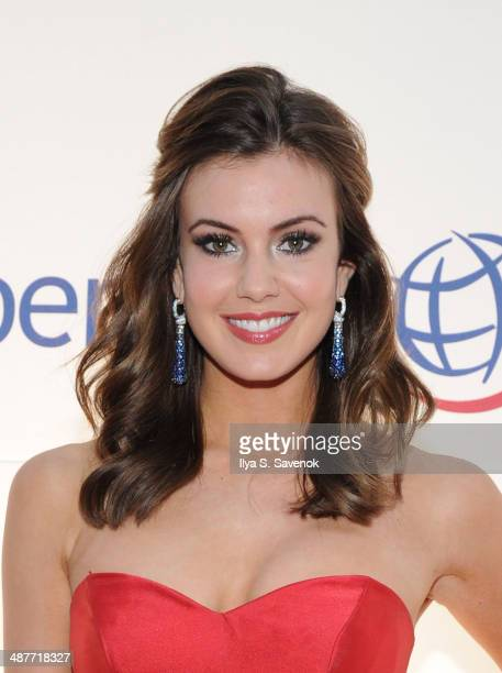 Miss USA 2013 Erin Brady attends Operation Smile's Smile Event at Cipriani Wall Street on May 1 2014 in New York City