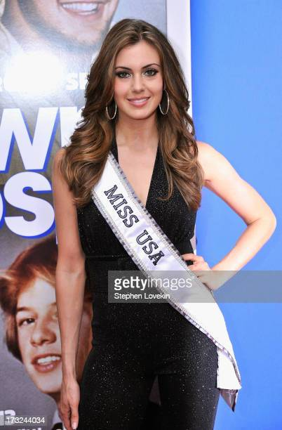 Miss USA 2013 Erin Brady attends the 'Grown Ups 2' New York Premiere at AMC Lincoln Square Theater on July 10 2013 in New York City