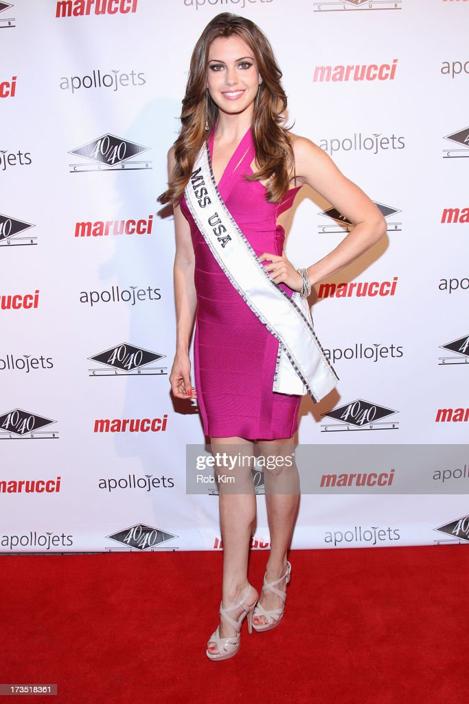 Miss USA 2013 Erin Brady attends the Marucci Sports 4th Annual All-Star State Of Mind Celebration at 40 / 40 Club on July 15, 2013 in New York City.